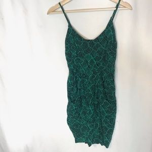 MOSSIMO Green Aztec Dress XS